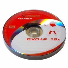 Диск DVD+R Videx MAMBA 4.7Gb bulk 10 16x