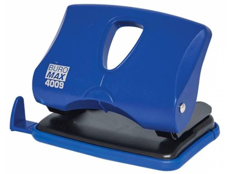 Діркопробивач Buromax (4009) 20арк. синій
