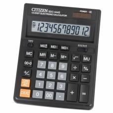 Калькулятор бухгалтерський Citizen SDC-444S 12р. (153*199мм) (аналог Citizen 888)