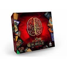 Гра розвиваюча карткова Danko Toys BEST QUEST 4in1