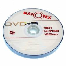 Диск DVD+R Nanotex 4.7Gb bulk 10 16x