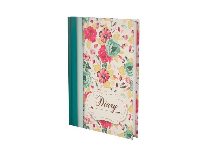 Діловий щоденник *Buromax А5 LAURA бірюзовий лінія