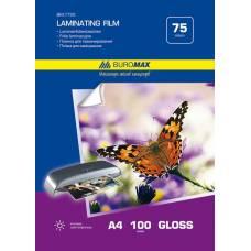 плівка для ламінування Buromax А4 75мкм (за 100шт)