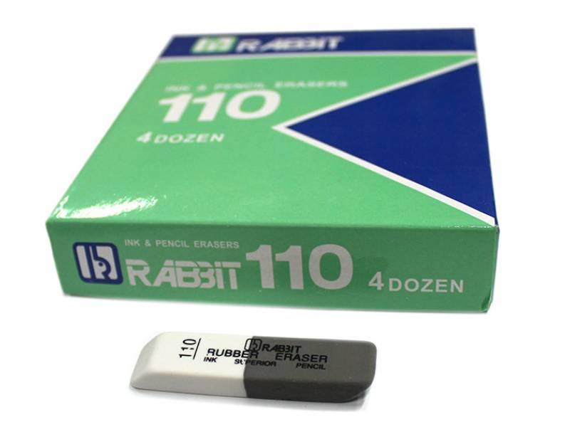 Гумка для олівця Josef Otten STANDART REBBIT 6см (біло-сірий)