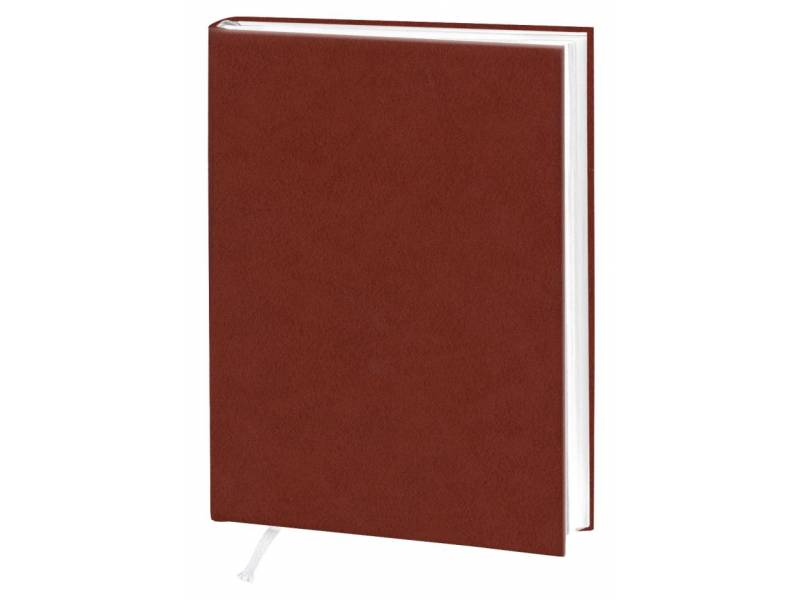 Діловий щоденник Поліграфіст А5 В241 баладек ARIANE, коричневий лінія