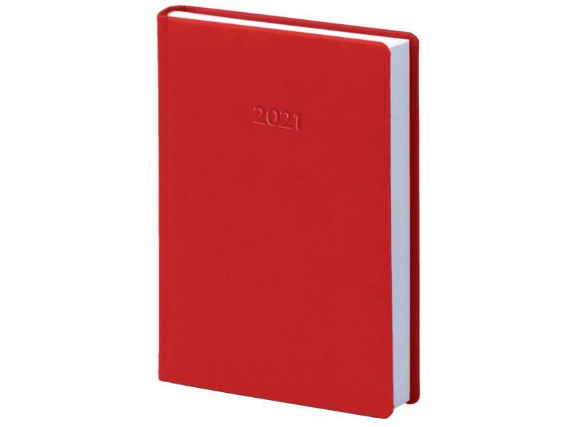 Діловий щоденник датований Поліграфіст В240 (20) VIVELLA шт.шкіра, червоний