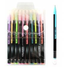 Ручки у наборі гелеві LK 96207-10 неон 10шт.