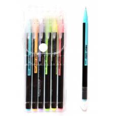 Ручки у наборі гелеві LK 96207-6 неон 6шт.