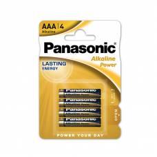 Елемент живлення alkaline Panasonic ALKALINE POWER CIRQUE DU SOLEIL LR03 (1*4)