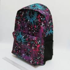 Рюкзак VL з карманом УЯВА фіолетовий 42*30*13см