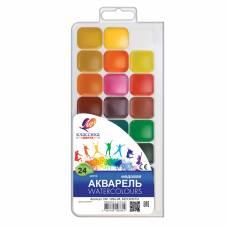Фарби акварельні *Луч ЗОО (МІНІ) 12кол. пластик