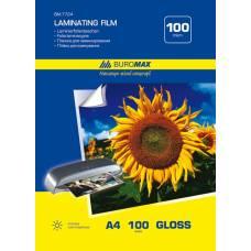 плівка для ламінування Buromax А4 100мкм (за 100шт)