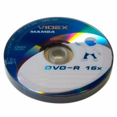 Диск DVD-R Videx MAMBA 4.7Gb bulk 10 16x