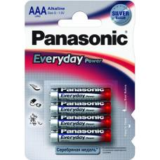 Елемент живлення alkaline Panasonic EVERYDAY POWER LR03 (1*4)
