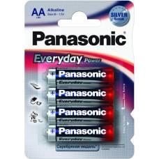Елемент живлення alkaline Panasonic EVERYDAY POWER LR06 (1*4)