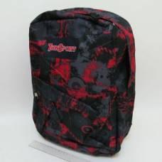 Рюкзак VL з карманом NOWADAYS червоний 42*30*13см