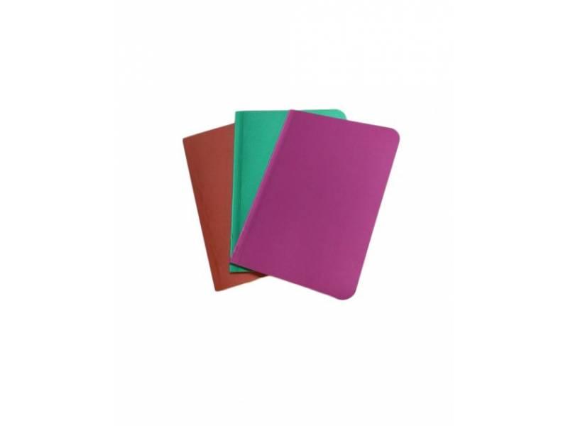 Блокнот Скат ЗК-23 METALLIC картон. обкл. клейовий, чистий кол. блок А5, 50л