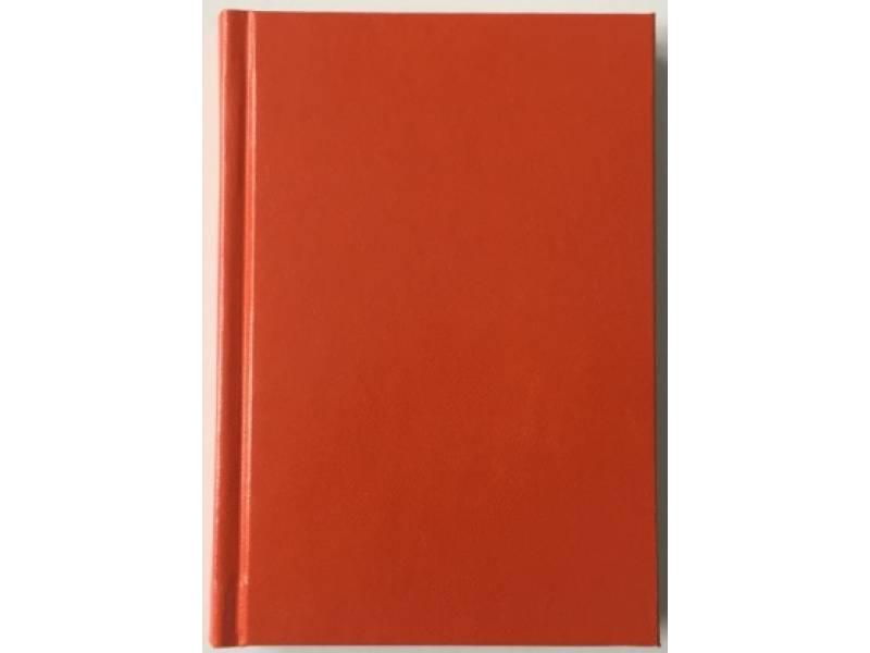 Діловий щоденник Поліграфіст А6 В243 баладек MARANO, помаранчевий лінія