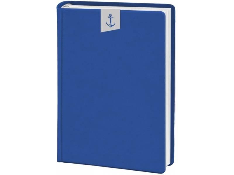 Діловий щоденник Поліграфіст А6 В237 шт.шкіра ТИСНЕННЯ, синій клітинка