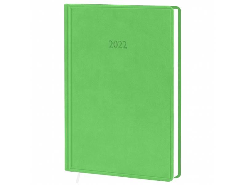 Діловий щоденник датований Поліграфіст В240 (20) VIVELLA шт.шкіра, салатовий