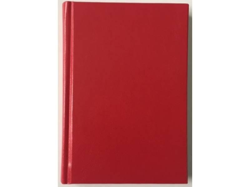 Діловий щоденник Поліграфіст А6 В237 баладек MARANO, червоний клітинка