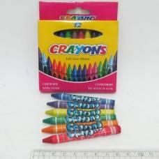 Олівці воскові Crayons 12кол.