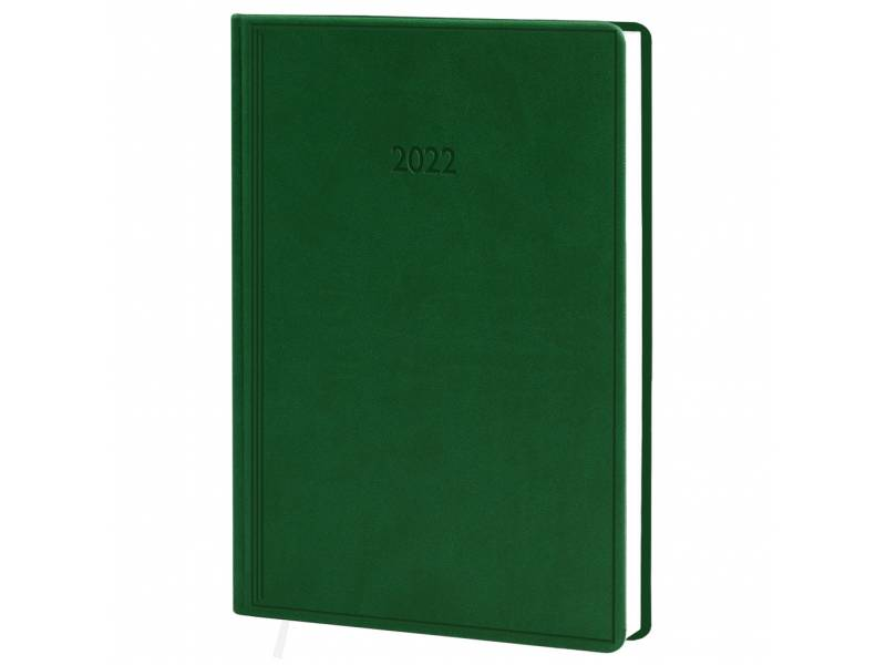 Діловий щоденник датований Поліграфіст В240 (20) VIVELLA шт.шкіра, зелений