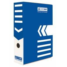 Бюромакс А4 80мм, синій