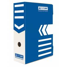 Бюромакс А4 100мм, синій