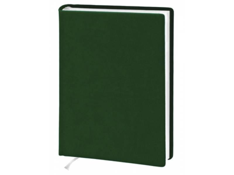 Діловий щоденник Поліграфіст А5 В239 шт.шкіра, зелений