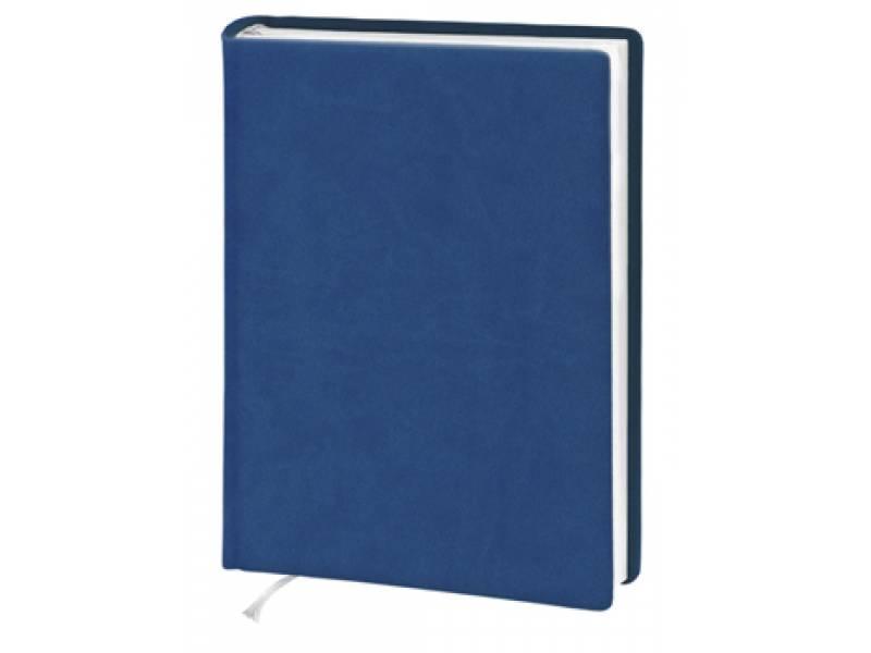 Діловий щоденник Поліграфіст А5 В239 шт.шкіра, синій