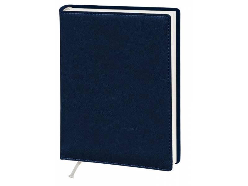 Діловий щоденник Поліграфіст А5 В241 шт.шкіра NEBRASKA, синій лінія