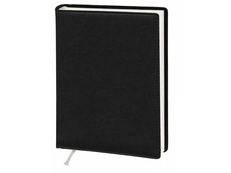 Діловий щоденник Поліграфіст А5 В241 шт.шкіра NEBRASKA, чорний лінія