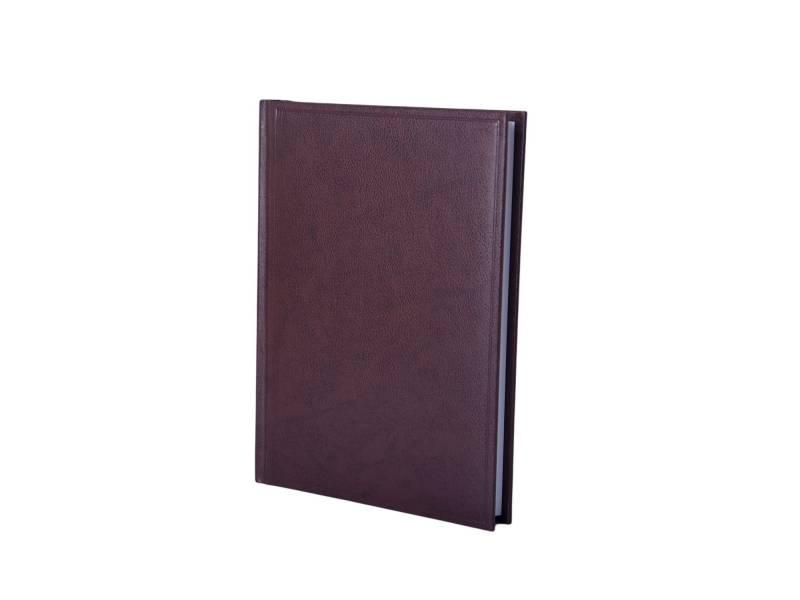 Діловий щоденник Buromax А5 BASE (тип Miradur) коричневий лінія