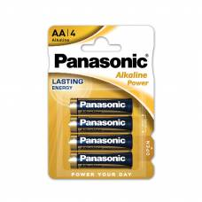 Елемент живлення alkaline Panasonic ALKALINE POWER LR06 (1*4)
