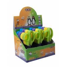 Ножиці дитячі Zibi 123мм з пластиковими ручками