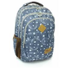 Рюкзак LK м`який анатомічна спинка California L SPEED чорний 46*34*15 см