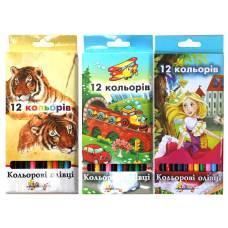 Олівці кольорові LK Незнайка 12цв.