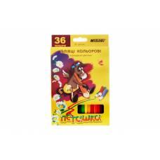 Олівці кольорові Marco 1010 ПЕГАШКА шестигранні 36цв.
