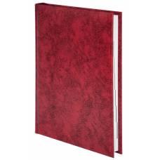 Діловий щоденник Buromax А5 BASE (тип Miradur) червоний лінія