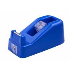 Buromax диспенсер для канцелярського скотчу, синій