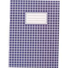 Книга канцелярська Бюромакс 48л повнокольорова обкл. КЛІТИНКА