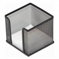 Підставка канцелярська *LK бокс для паперу металевий 10*10*10, чорний