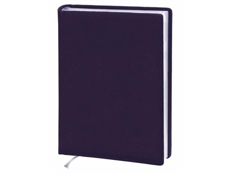 Діловий щоденник Поліграфіст А5 В231 шт. шкіра, фіолетовий клітинка