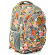 Рюкзак LK м`який анатомічна спинка California L OFFROAD чорний 46*34*15 см