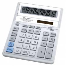 Калькулятор бухгалтерський Citizen SDC-888X WH білий 12р. (158*203мм)
