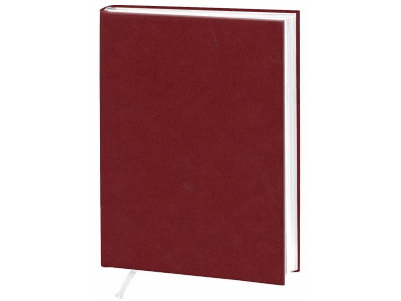 Діловий щоденник Поліграфіст А5 В231 баладек ARIANE, бордо клітинка