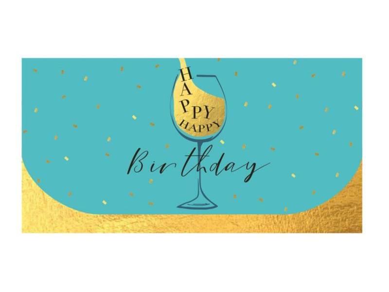 Аксесуари подарункові конверт для грошей ЛВ-01-343 Happy Birthday! (за 10шт) дитячий
