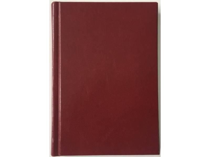 Діловий щоденник Поліграфіст А6 В243 баладек MARANO, бордо лінія