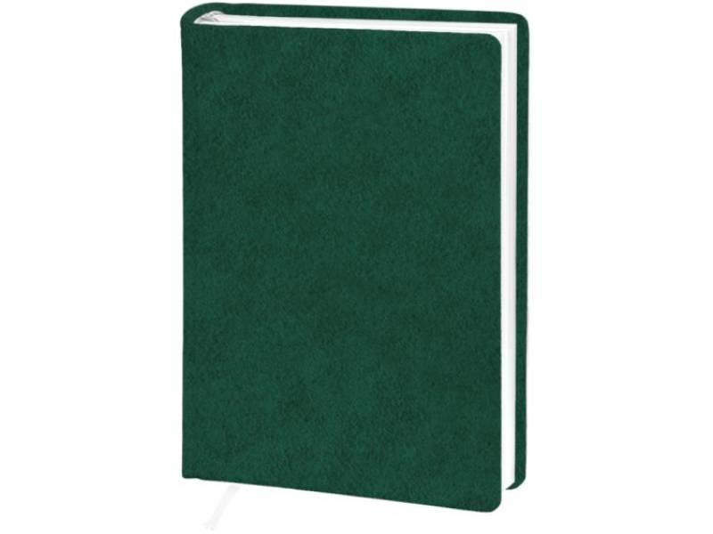 Діловий щоденник Поліграфіст А6 В237 баладек ARIANE, зелений клітинка